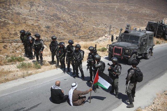 Палестинський спротив ізраїльським силовикам у Східному Єрусалимі
