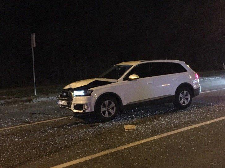 У Полтаві одна автівка влетіла в іншу і спричинила травмування пішоходів (фото, відео)