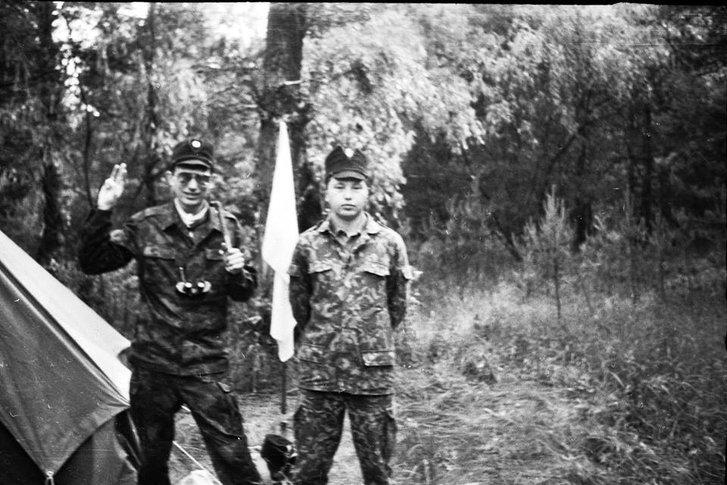 Ще в радянські часи поблизу Нових Санжар проходили вишколи націоналістичної молоді_1