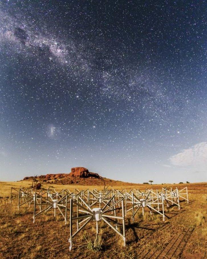 Радіотелескоп «Мерчісон», який допоміг виявити вибух
