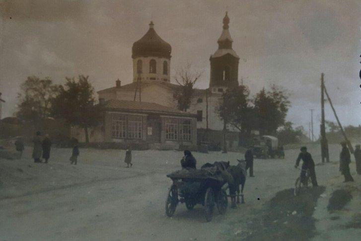 Успенська церква Рашівки. Рік — між 1963 і 1970