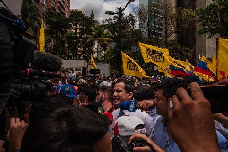 У столиці Венесуели поновилися вуличні протести проти чинної влади_1