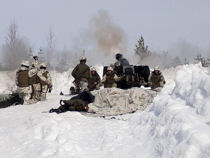 Пандемія не завада для гартування справжніх воїнів — артилеристи армії Фінляндії_1