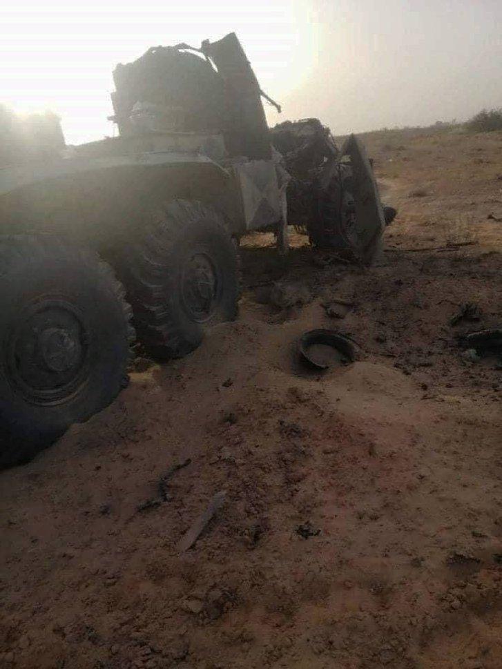 Турецькі безпілотники знищили російський «Панцир-С1» у Лівії_1