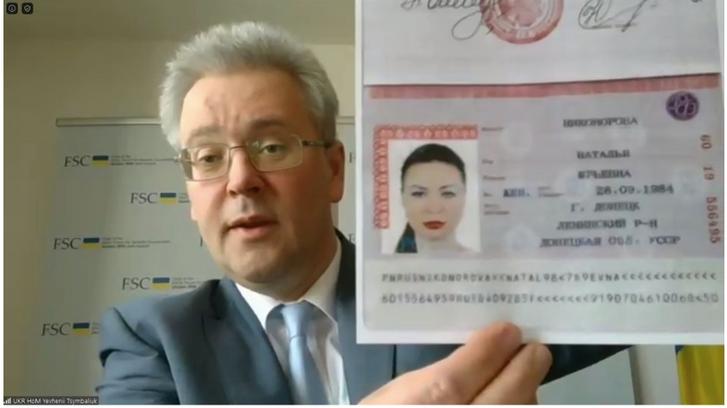 Україна продемонструвала російські паспорти ватажка «ДНР» і «представників» ОРДЛО в ТКГ_2