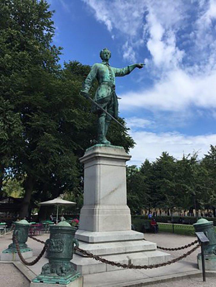 Монумент Карлу ХІІ у Стокгольмі