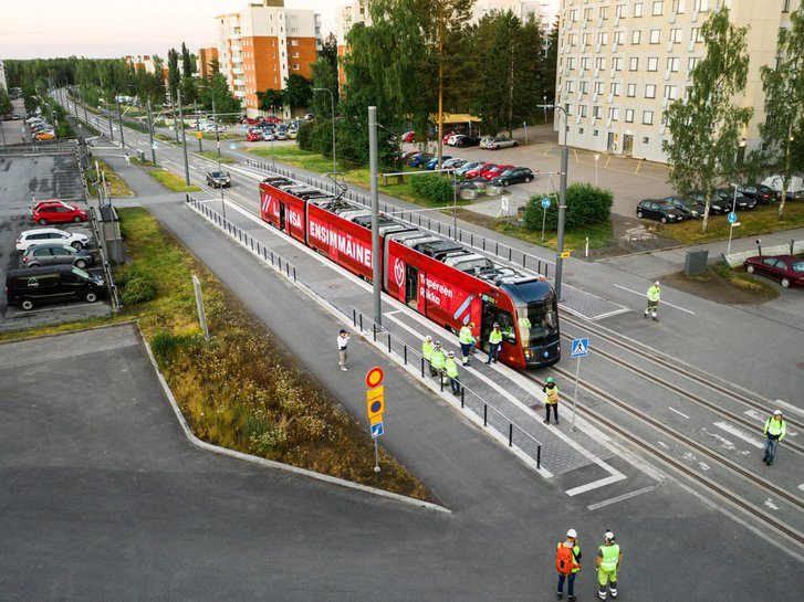 У другому найбільшому місті Фінляндії запускають трамвайне сполучення_1