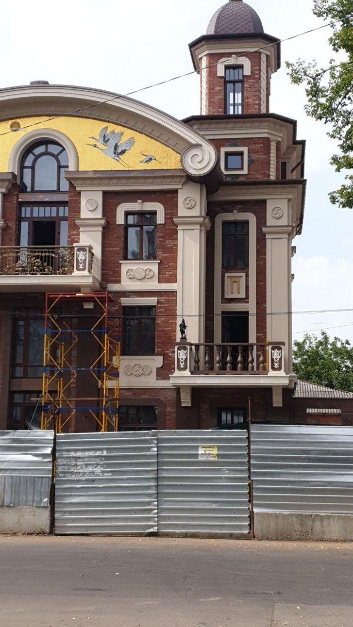 Солярні символи у центрі Полтави налякали «ліберальних» журналістів_1