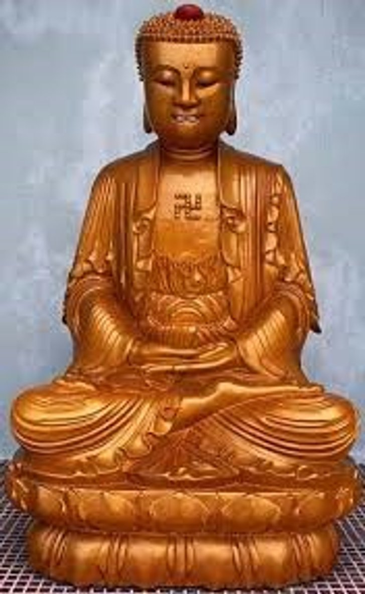 Будда зі свастям