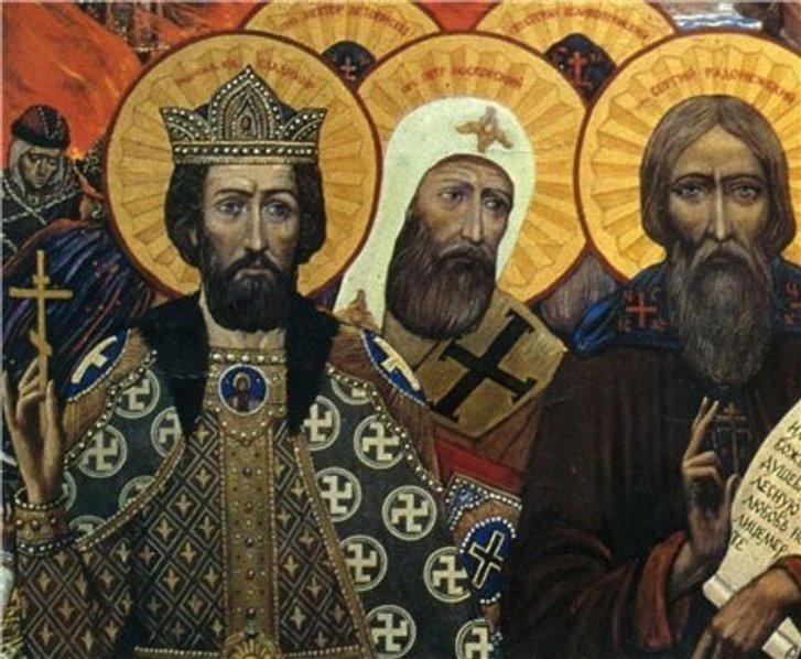 Зображення свастики у християнстві