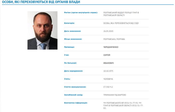 Кримінальний шлях Сергія Чередніченка_1