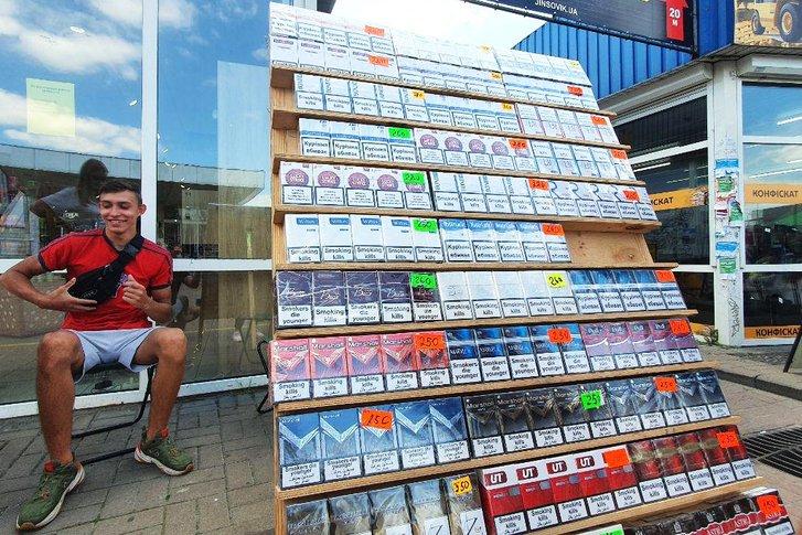 Контрабандні цигарки на українському ринку
