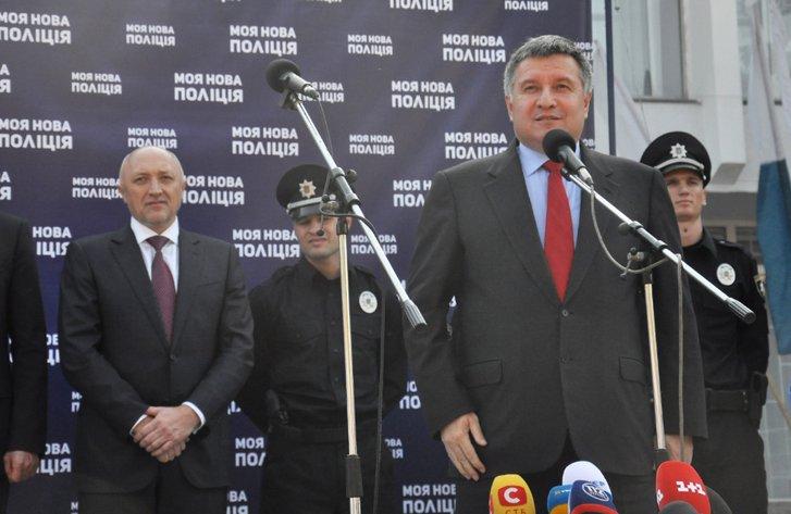 Валерій Головко та Арсен Аваков