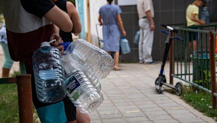 Догосподарювалися: окупанти допустили виток каналізаційних відходів у водопровід кримської столиці_1