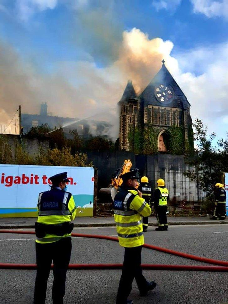 В Ірландії згорів середньовічний храм_1
