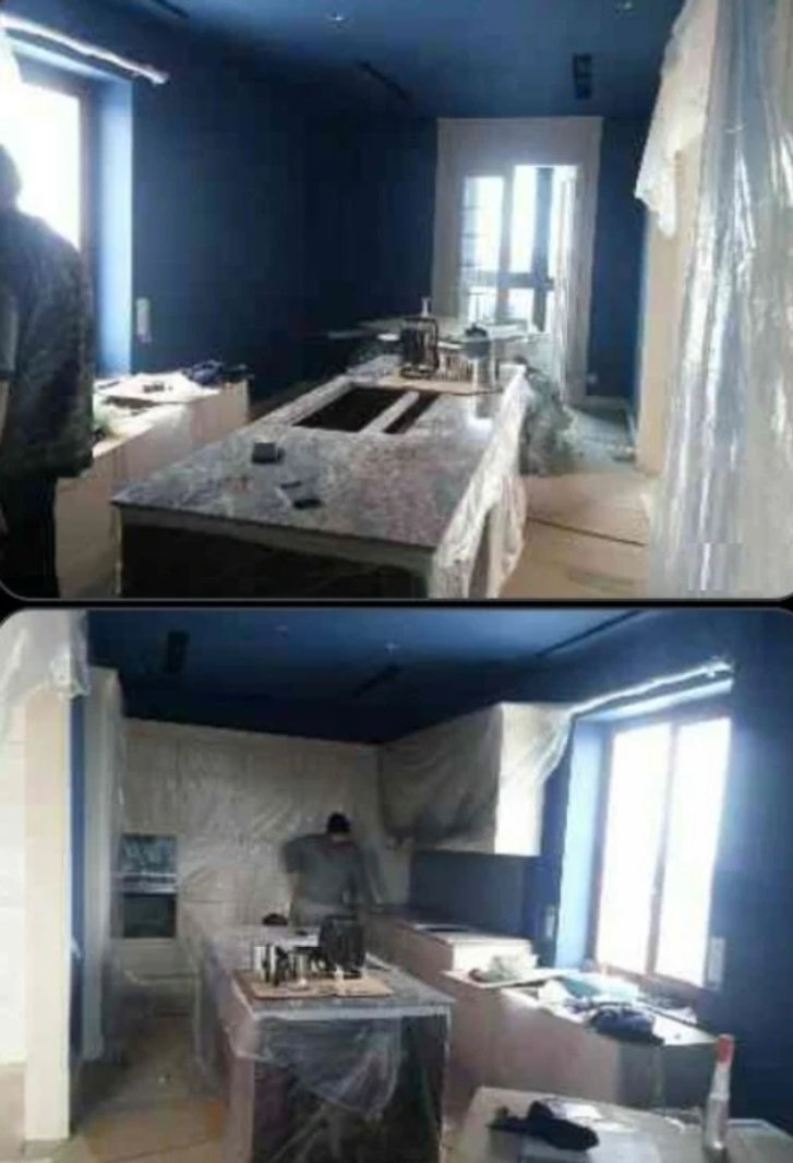Ремонтні роботи в квартирі Пісоцького