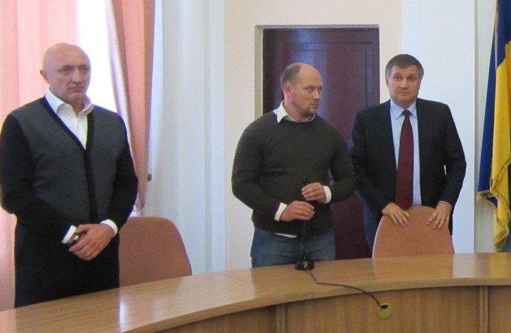 Арсен Аваков та Валерій Головко
