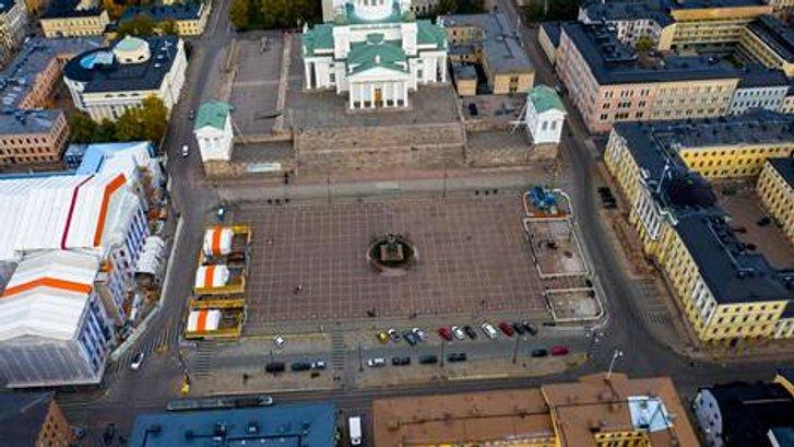 Сенатська площа у Гельсінкі
