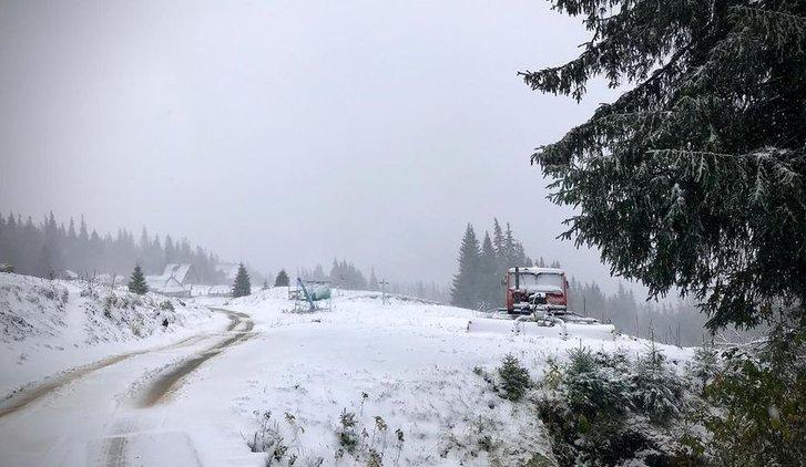 Карпати вкрило снігом_1