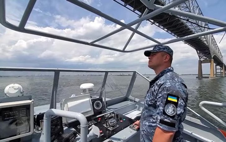 У ВМС зганьбилися з відео катеру на якому виявилася російська навігація_1