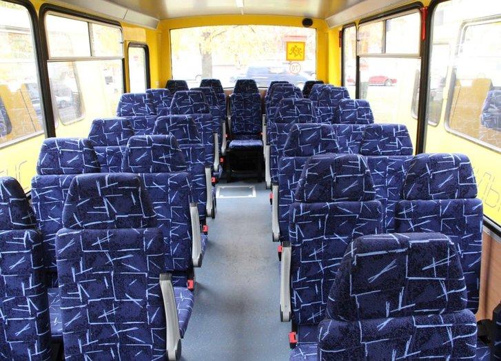 Салон нових автобусів