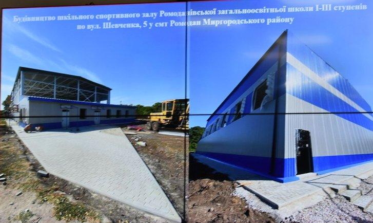 Полтавська ОДА перенаправить 144 тисячі гривень на будівництво шкільного спортзалу у Ромодані_2