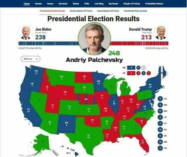 Пальчевський вирішує долю американських виборів_1