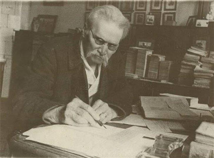 Дмитро Яворницький за роботою (Дніпропетровськ, 1920-ті)