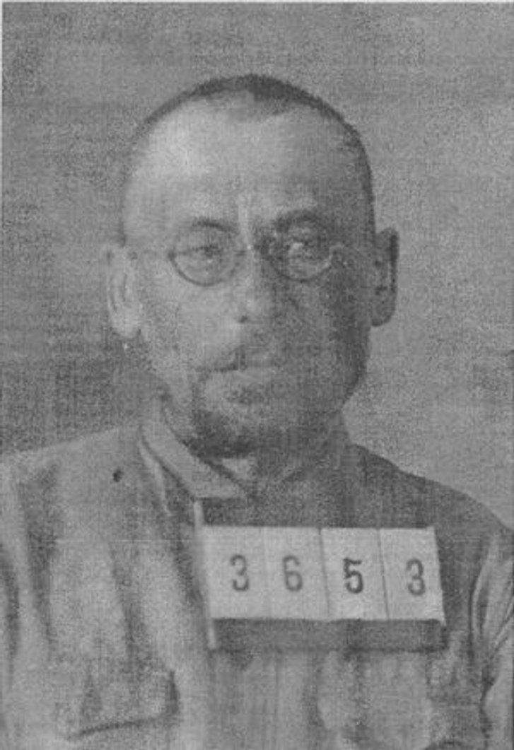 Матвій Яворський у концтаборі (Соловецькі острови, 1930-ті)