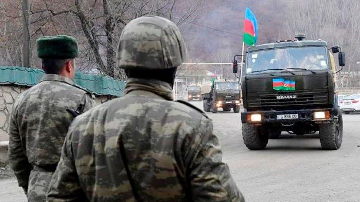 Азербайджанські війська увійшли у звільнене від окупантів місто Лачин_2
