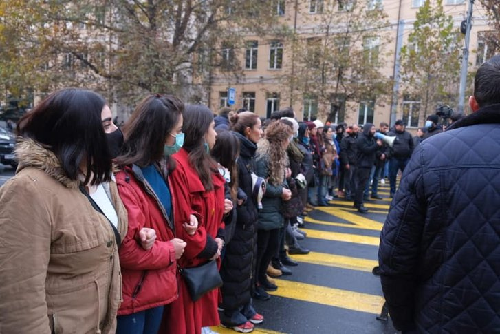 Протести в Єревані (8 грудня 2020 року)