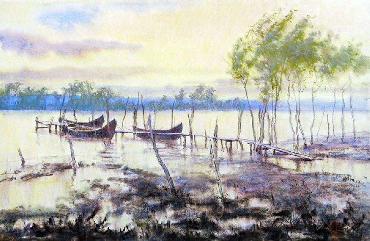 Одеського живописця Сергія Лозовського здолав COVID-19_1