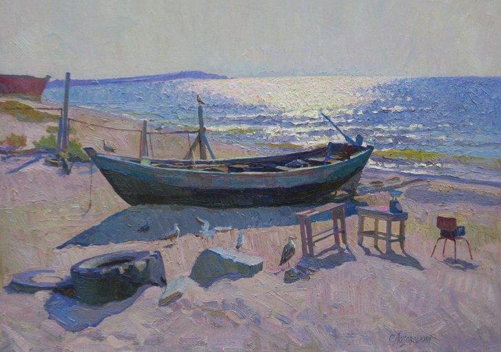 Одеського живописця Сергія Лозовського здолав COVID-19_3