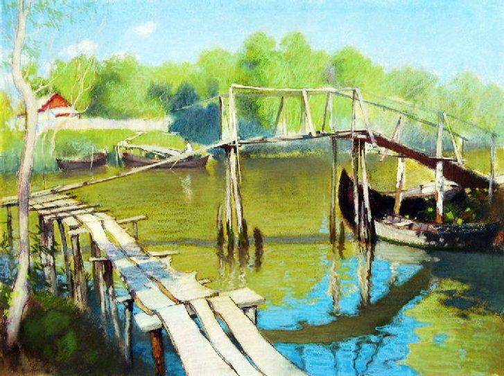 Одеського живописця Сергія Лозовського здолав COVID-19_2