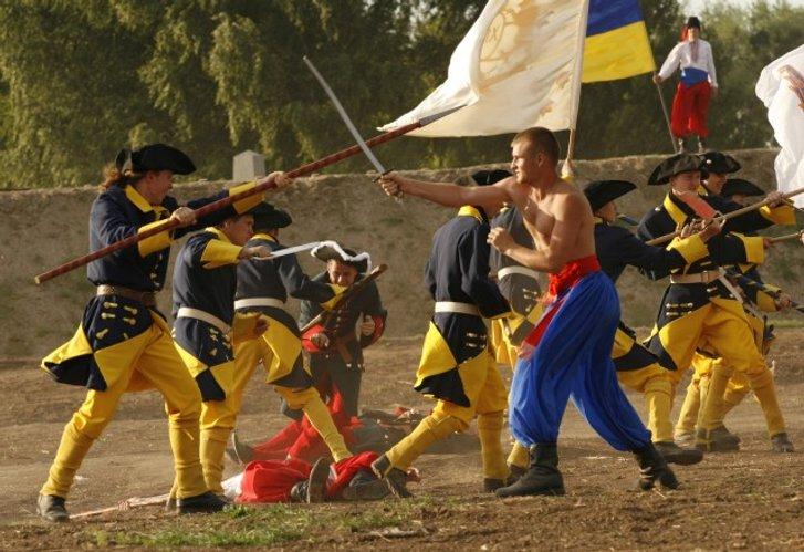 Історична реконструкція Полтавської битви