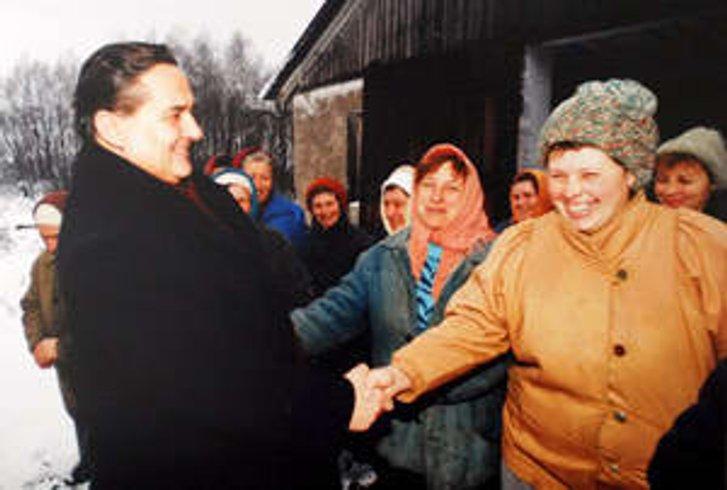 Є. Марчук у Миргородському районі (1990-ті)