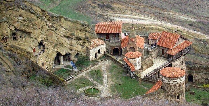 Монастир Чічхітурі комплексу Давид-Ґареджі на території Азербайджану