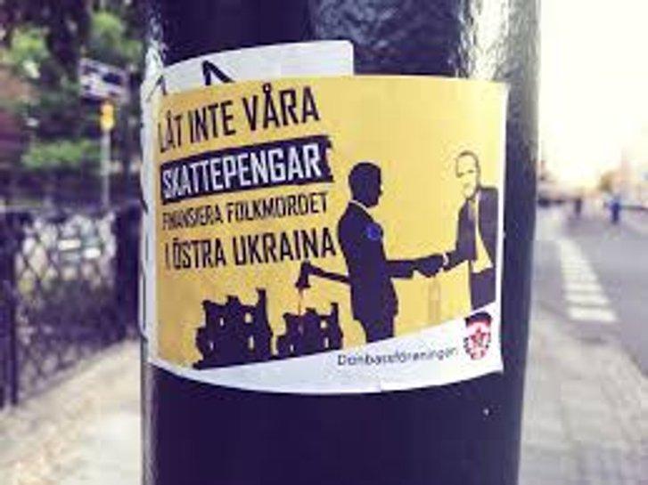 Кремлівський агітпроп шведських прихильників