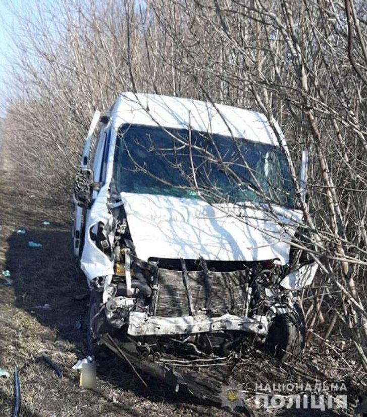 У аварії на Полтавщині постраждали четверо людей_1