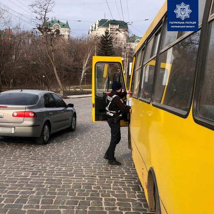 У Полтаві оштрафували водія маршрутки за 40 пасажирів у салоні_1