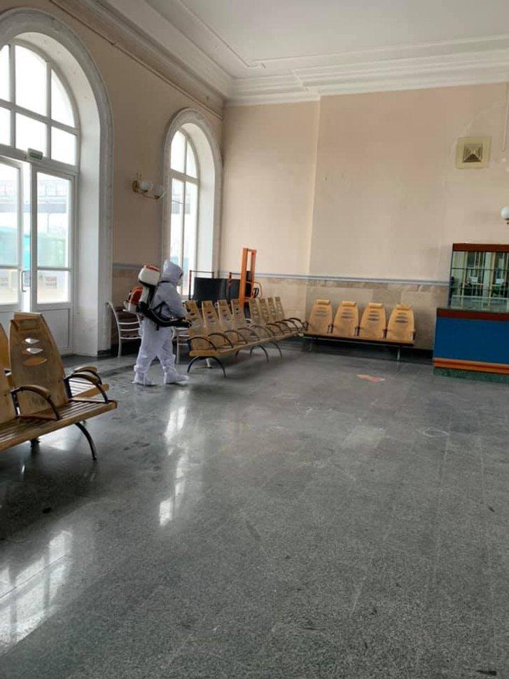 На вокзалі в Полтаві тестуватимуть на коронавірус_3