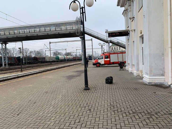 На вокзалі Полтави пасажирів перевірили на коронавірус_1