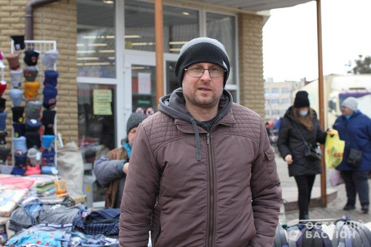 Полтавець Юрій Гурін знає ситуацію, що склалась на Центральному ринку в Полтаві