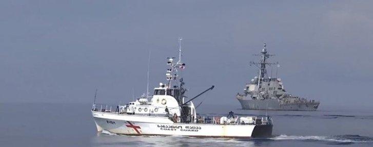 Грузія і НАТО провели морські маневри неподалік окупованої росіянами Абхазії_1