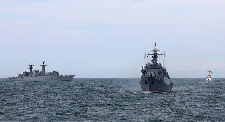 Грузія і НАТО провели морські маневри неподалік окупованої росіянами Абхазії_2