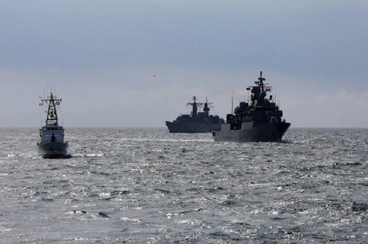 Грузія і НАТО провели морські маневри неподалік окупованої росіянами Абхазії_3