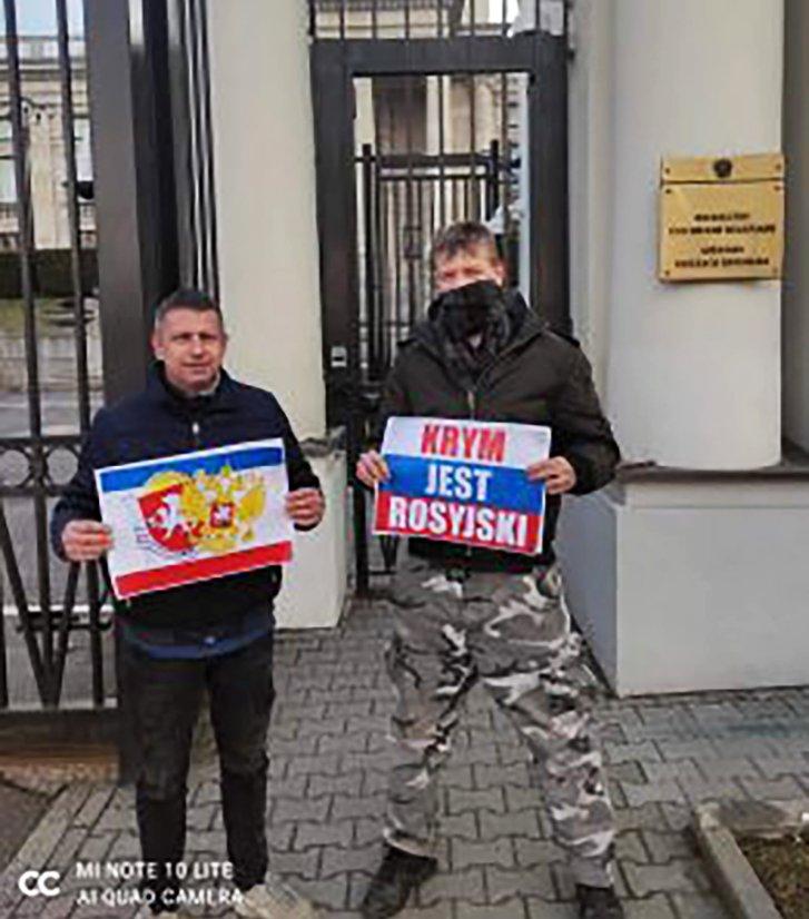 Агенти Кремля у Варшаві закликали владу Польщі визнати Крим «російським»_1