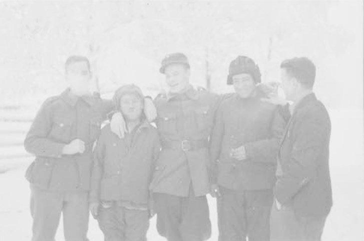 Перші полонені українські червоноармійці (селище Суйстамо, 12 грудня 1939 року)