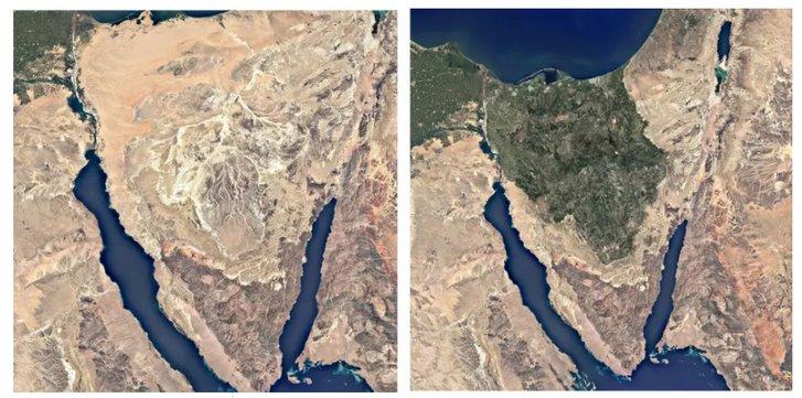 Китайсько-єгипетський план з озеленення Синайського півострова