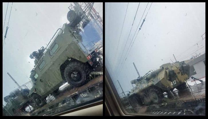 Мешканці РФ поширюють у соцмережах світлини з російською воєнною технікою, що нібито рухається у бік України